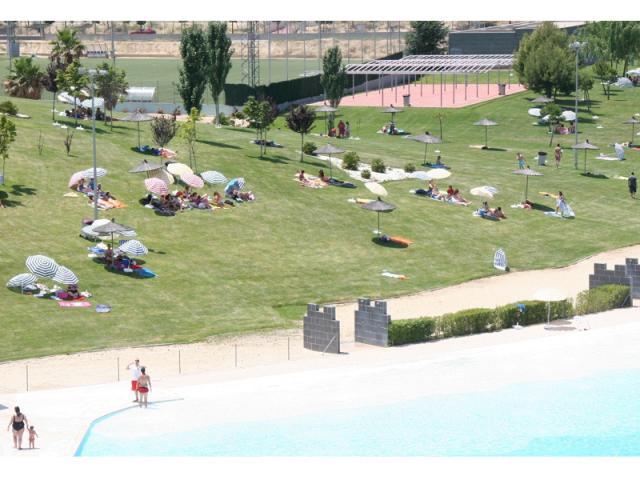 La piscina de agua salada de parla ser madrid sur - Piscinas de agua salada ...