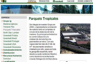 Trabajadores de la empresa parquets ser madrid sur - Parquets tropicales ...