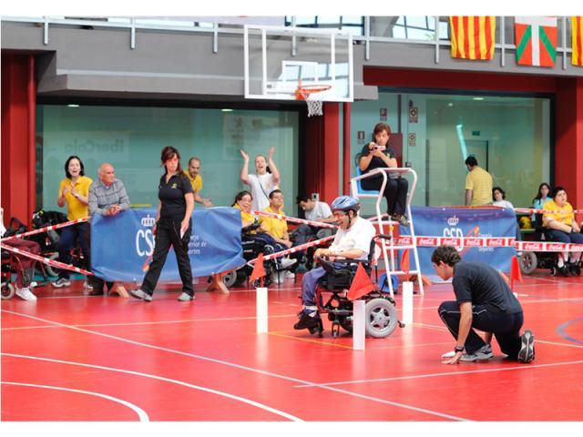 AdictAl En ComosoySlalom Ruedas Deporte De Español Silla CeBxdro