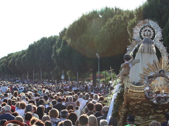 Getafe Fin De Fiesta: La 'subida' De La Virgen Al Cerro Y La ...