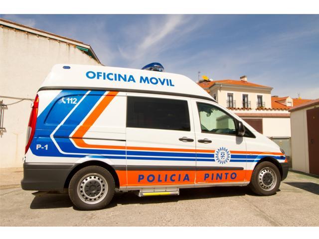 Una oficina m vil de la polic a de ser madrid sur for Oficina de policia