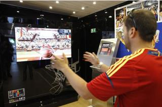 La Plaza Mayor de Leganés acoge el FIBA Road Show World Cup