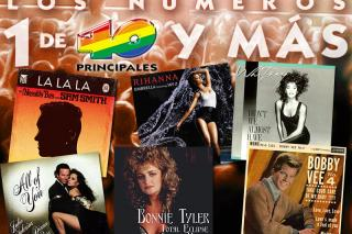 """Umbrella"", ""Blue Velvet"" o ""Take good care of my baby"", canciones otoñales en Los números uno de 40 y más."