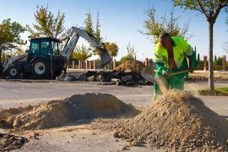 Comienzan en Pinto las obras del primer área de servicio madrileño para autocaravanas