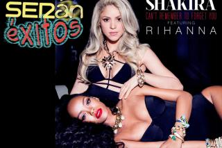 Shakira y Rihanna, juntas a por el n�mero uno con �Can�t Remember to forget you�.