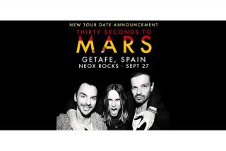 'Thirty seconds to Mars' tendrá en Getafe su única actuación en España