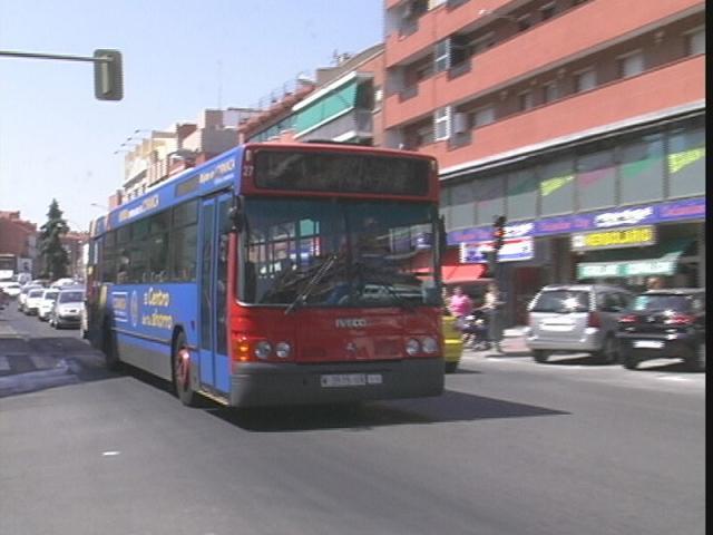 Los autobuses de fuenlabrada cubrir n ser madrid sur for Viveros madrid sur